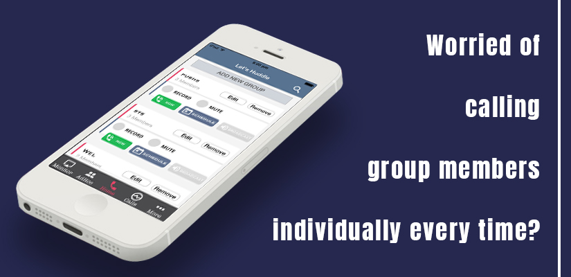 Worried of calling group members individually every time, let's use