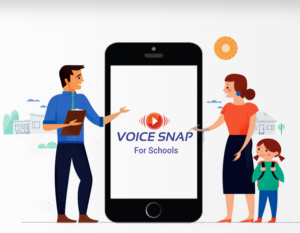 Voicesnap School App for parent teacher communications